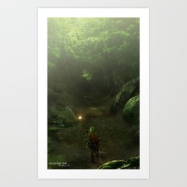Ocarina Of Time Art Prints   Society6
