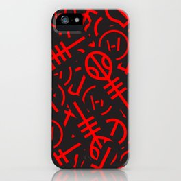 TØP Stickers - Red iPhone Case