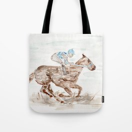 Race Horse, Derby, Kentucky, Tote Bag