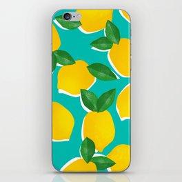 Lemons for daysss iPhone Skin