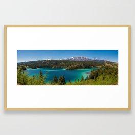 Emerald Lake, Yukon Framed Art Print