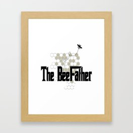 The BeeFather Framed Art Print