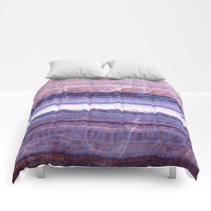 Azul marble Comforters