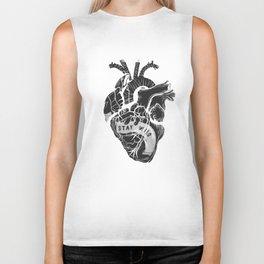 Heart (stay wild) Biker Tank