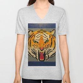 Fear The Tiger Unisex V-Neck