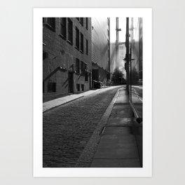 Boston ally Art Print