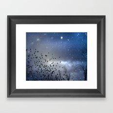 As Stars Collide Framed Art Print