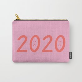 2020 Unhappy Emoji Year Carry-All Pouch