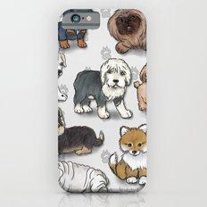 Puppies, more than a dozen.  Slim Case iPhone 6s