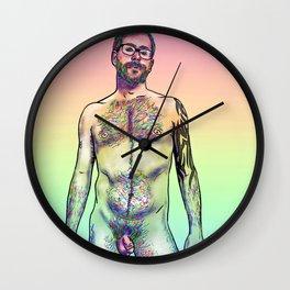Kneeling Proudly Wall Clock