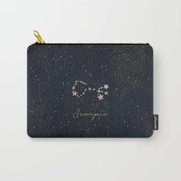 Scorpio - Rose Gold Carry-All Pouch