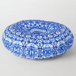 Blue Mandala Mehndi Style G403 Floor Pillow