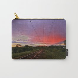 Northern sunset at white night Carry-All Pouch