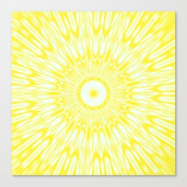 The Sun : Kaleidoscope Mandala Canvas Print