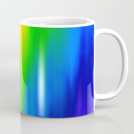 Diagonal Rainbow Blend Coffee Mug