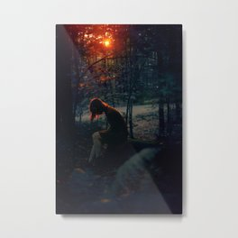 Last Light Metal Print