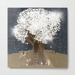 the starlight tree Metal Print
