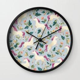 Magical Unicorn Wall Clock