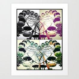 Wheels of Love Art Print