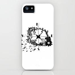 Compass Rose Garden iPhone Case