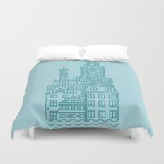 Stockholm (Cities series) Duvet Cover