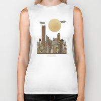 miami Biker Tanks featuring miami city  by bri.buckley
