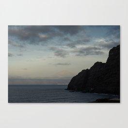 Romanticism in La Gomera Canvas Print