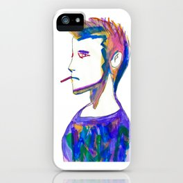 Jonah- Water Color Painting iPhone Case