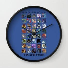 Monster Hunter - Hunt or be Hunted Wall Clock