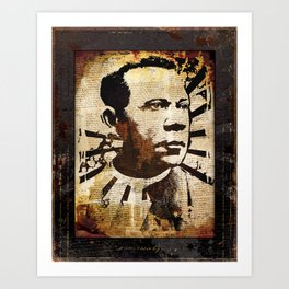 Mr. Ujamaa Art Print