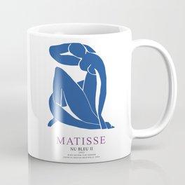 Henri Matisse Nu Bleu II (Blue Nude II) 1952 Artwork for Wall Art, Prints, Posters, Tshirts, Men, Women, Youth Coffee Mug