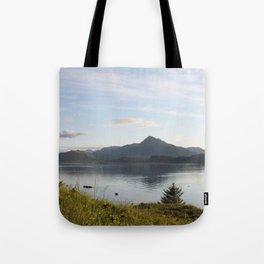 Kashevaroff Mountain Photography Print Tote Bag