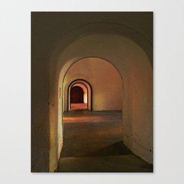Cristobal Corridor Canvas Print