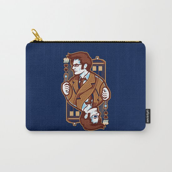 10th of Hearts Carry-All Pouch