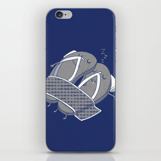'sleep'pers iPhone & iPod Skin