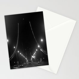 Late Nights on the Bay Bridge Stationery Cards