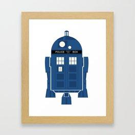 R2-TARDIS Framed Art Print