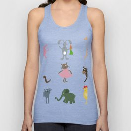 Cartoon film an animal Unisex Tank Top