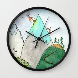 Live with You on Ice Wall Clock