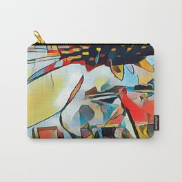 Daisy One Abstract Carry-All Pouch