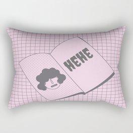 hehe Rectangular Pillow