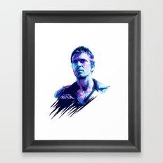 Mel Gibson : BAD ACTORS Framed Art Print