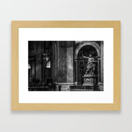 Inside The Vatican Framed Art Print