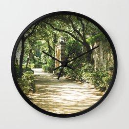 Parc del Laberint d'Horta Wall Clock