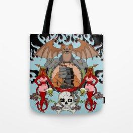 Hellfire Tote Bag