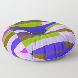 Kilim Fall Colors Purple Green #homedecor Floor Pillow