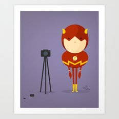 My camera hero! Art Print