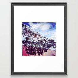 Pink Cliffs Framed Art Print