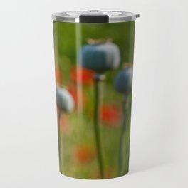 Poppy Heads Travel Mug
