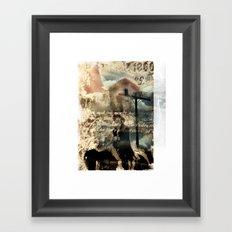 early settlers Framed Art Print